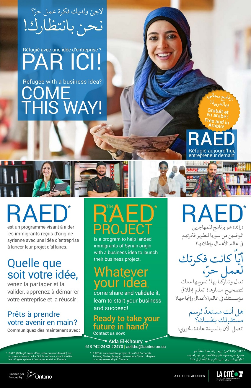 RAED  Project for Syrian Refugees & Immigrants