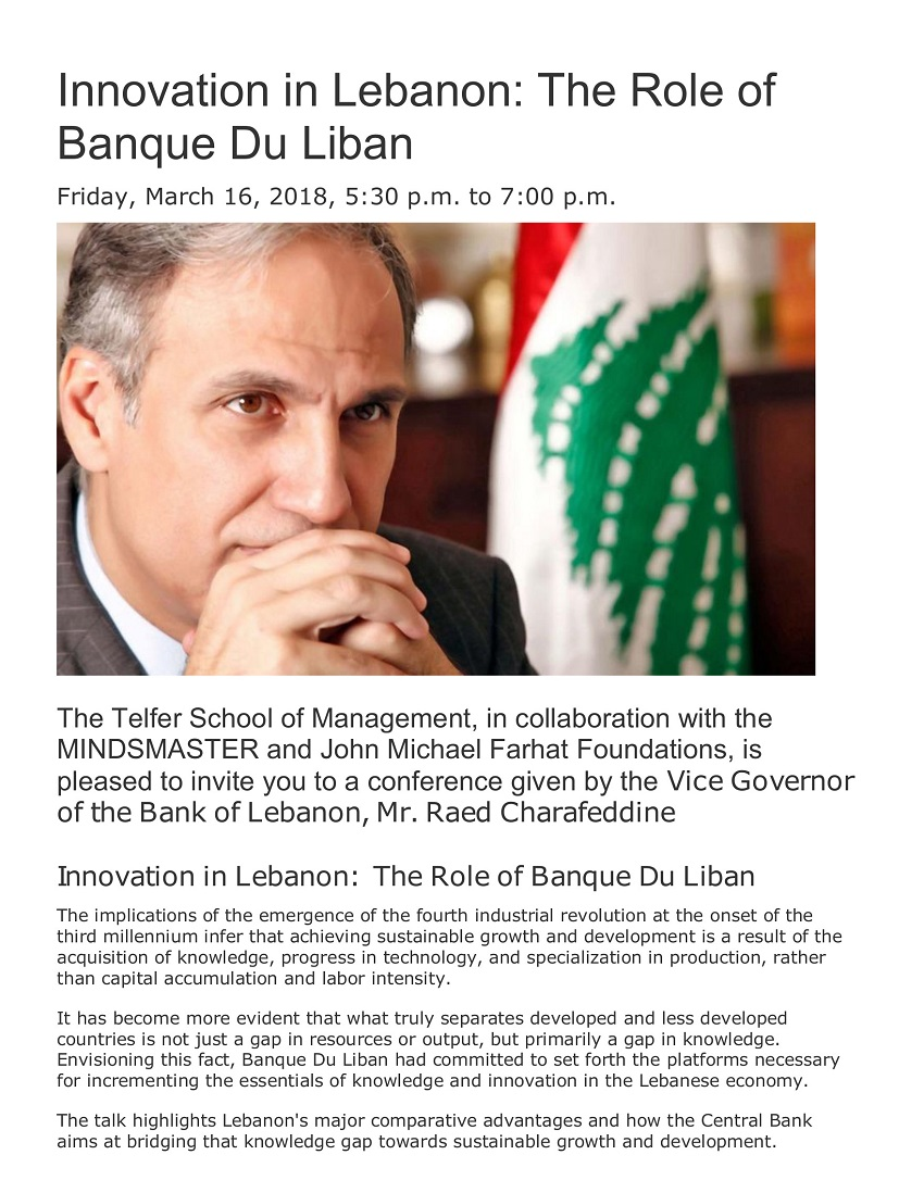 20180316 - Innovation in Lebanon-T