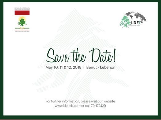 Save the Date – LDE Conference in Lebanon