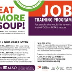 Job Training Program – Food or Retail Sectors