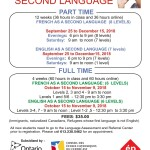 French, English as a Second Language