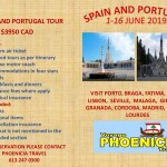 Trip to Portugal and Spain