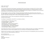 APAC Board of Directors – 2019-2020
