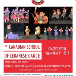 Lebanese Dance, Baldi and Dabke Classes