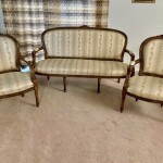 Three-Piece Salon Suite Louis XVI Style
