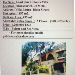 Property for Sale in Lebanon